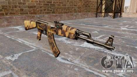 El AK-47 Otoño para GTA 4