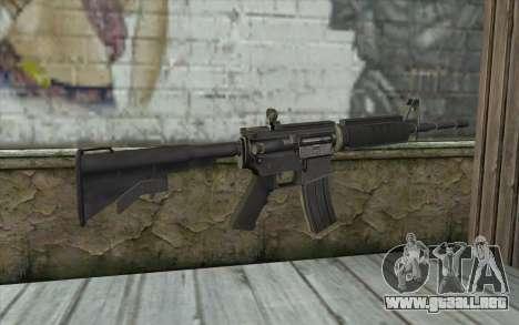 SGW M4 Rifle para GTA San Andreas segunda pantalla