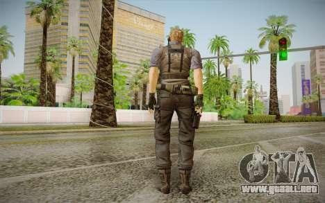 Wesker Stars from Resident Evil 5 para GTA San Andreas segunda pantalla