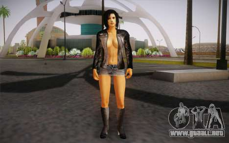 Jill Biker para GTA San Andreas