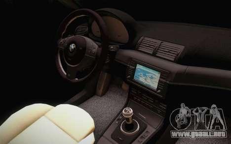 BMW 318 Ci 34 UNL 58 para la visión correcta GTA San Andreas