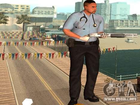 Pack Medic para GTA San Andreas segunda pantalla