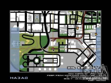 La selva en una calle Azteca para GTA San Andreas sexta pantalla