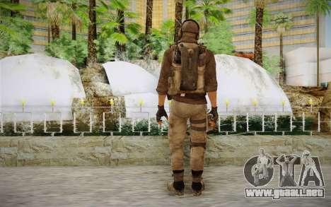 Mercenario en la armadura (COD MW3) para GTA San Andreas segunda pantalla