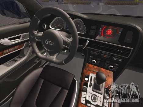 Audi RS6 para la vista superior GTA San Andreas