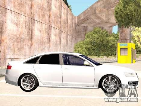 Audi RS6 para la visión correcta GTA San Andreas