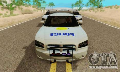 Pursuit Edition Police Dodge Charger SRT8 para GTA San Andreas left