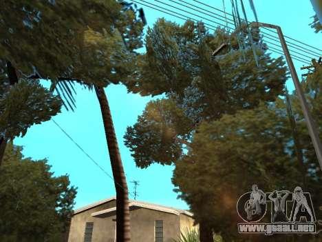 La selva en una calle Azteca para GTA San Andreas quinta pantalla