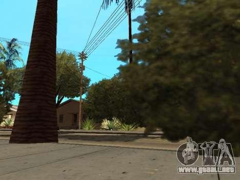 La selva en una calle Azteca para GTA San Andreas sucesivamente de pantalla
