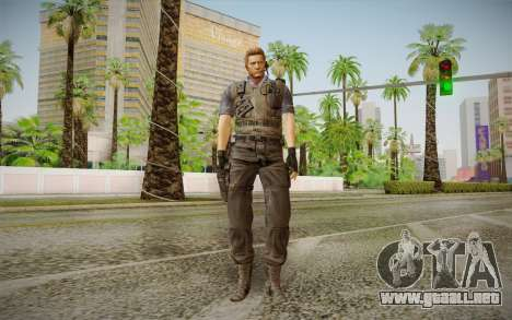 Wesker Stars from Resident Evil 5 para GTA San Andreas