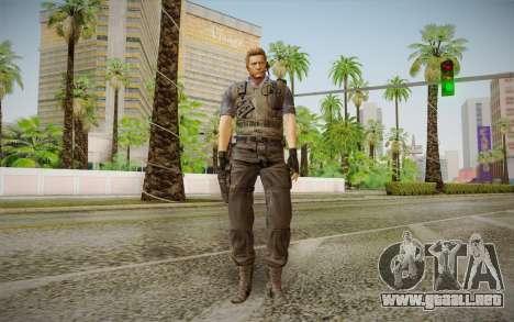Wesker Stars from Resident Evil 5 para GTA San Andreas
