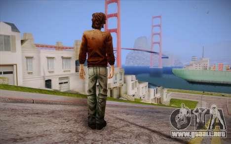 Lucas из The Walking Dead para GTA San Andreas segunda pantalla