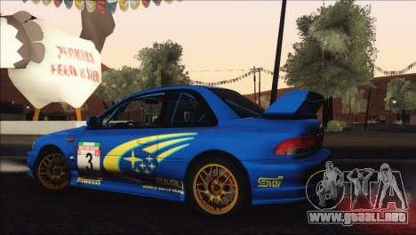 Subaru Impreza 22B STi 1998 para el motor de GTA San Andreas