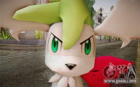 Shaymin Sky from Pokemon para GTA San Andreas tercera pantalla