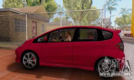 Honda Fit Stock 2009 para la visión correcta GTA San Andreas