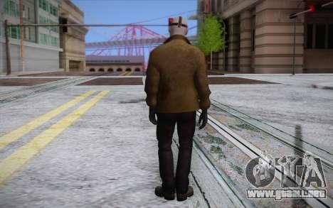 Jason Voorhees para GTA San Andreas segunda pantalla