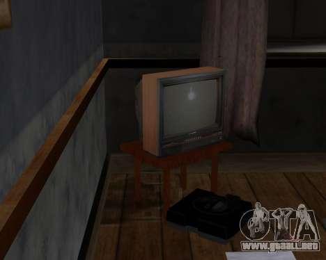 Televisión en color alfa-TC- para GTA San Andreas tercera pantalla
