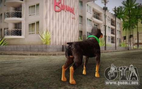 Rottweiler from GTA V para GTA San Andreas segunda pantalla