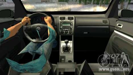 Volkswagen Golf V GTI para GTA Vice City vista lateral izquierdo