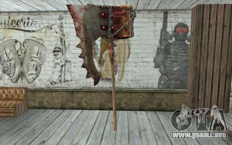 El hacha del verdugo (Resident Evil 5) para GTA San Andreas