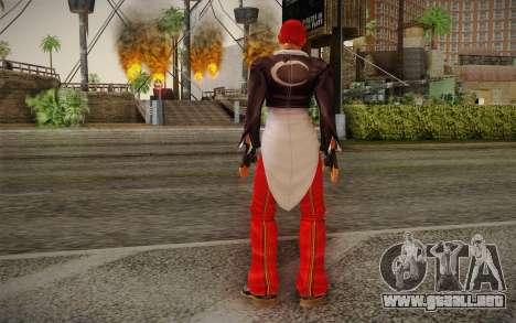 Iori Yagami para GTA San Andreas segunda pantalla