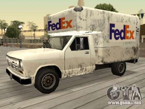 La nueva publicidad en los coches para GTA San Andreas séptima pantalla