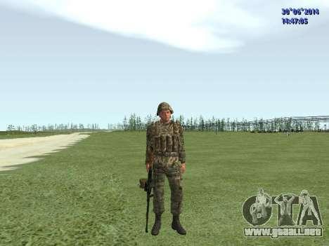 El combatiente del ejército ruso para GTA San Andreas séptima pantalla