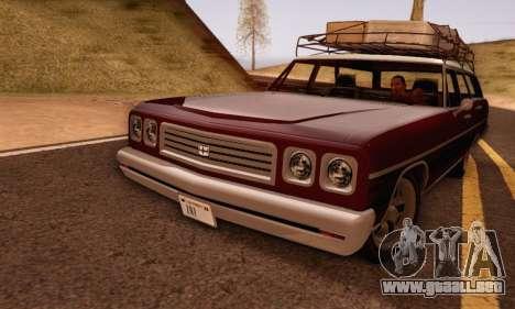 Dundreary Regina V1.0 para GTA San Andreas left