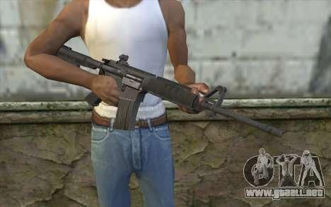 SGW M4 Rifle para GTA San Andreas tercera pantalla