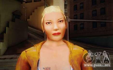 Woman Autoracer from FlatOut v1 para GTA San Andreas tercera pantalla