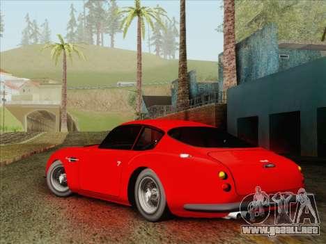Aston Martin DB4 Zagato 1960 para GTA San Andreas left