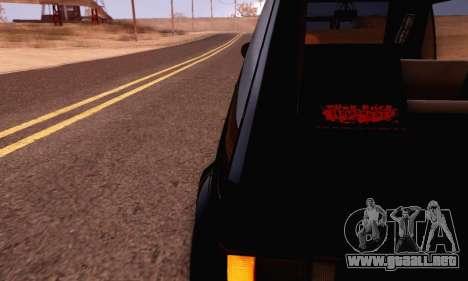 Volkswagen Golf Mk I Punk para la visión correcta GTA San Andreas