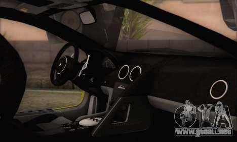 Lamborghini Murcielago 2005 Mismas Ediciones HQL para la visión correcta GTA San Andreas