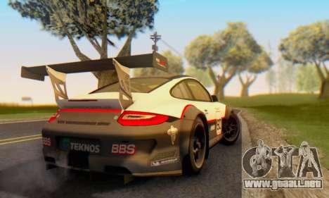 Porsche GT3 R 2009 para la visión correcta GTA San Andreas