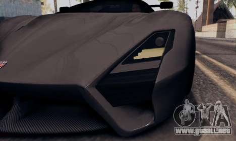 SSC Tuatara 2011 para vista inferior GTA San Andreas