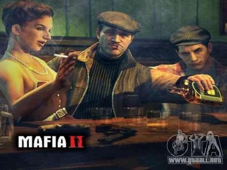 La pantalla de arranque de Mafia II para GTA San Andreas quinta pantalla