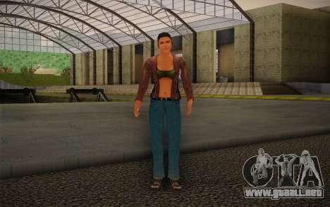 Woman Autoracer from FlatOut v4 para GTA San Andreas