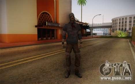 Hunter from Left 4 Dead 2 para GTA San Andreas