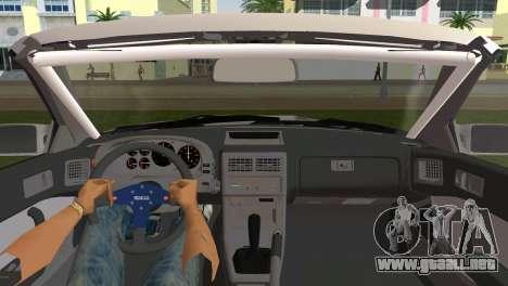 Mazda Savanna RX-7 III (FC3S) para GTA Vice City vista lateral izquierdo