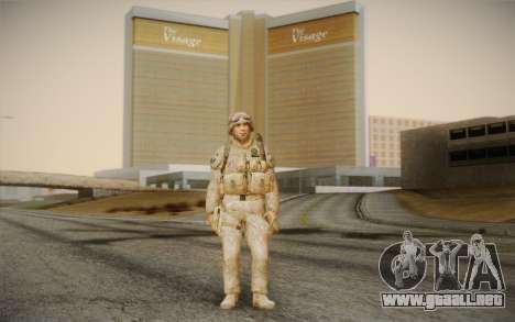 Las de los soldados del Black Ops 2 para GTA San Andreas