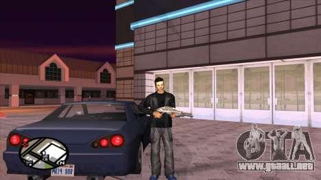 Retexture pantalones de Binco para GTA San Andreas sucesivamente de pantalla