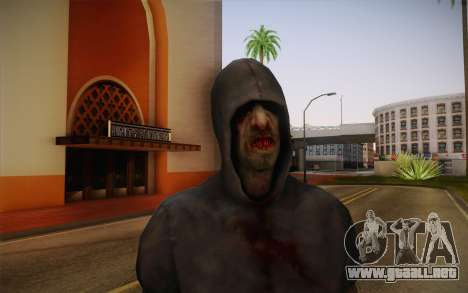 Hunter from Left 4 Dead 2 para GTA San Andreas tercera pantalla