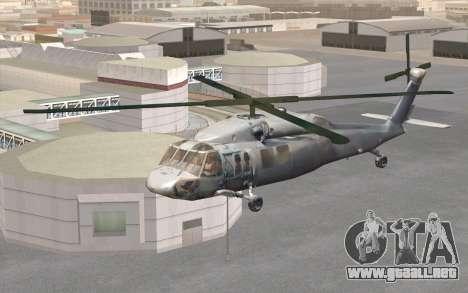 UH-60 Blackhawk para la visión correcta GTA San Andreas