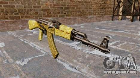 El AK-47 de Oro para GTA 4