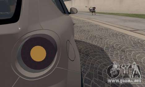 Afla Romeo Mito Quadrifoglio Verde para vista inferior GTA San Andreas