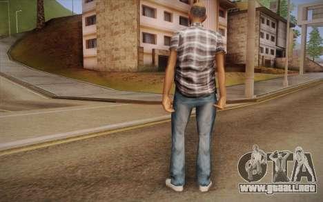 Chico asiático para GTA San Andreas segunda pantalla