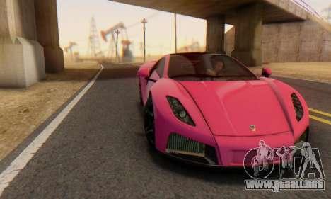 GTA Spano 2014 HQLM para vista inferior GTA San Andreas