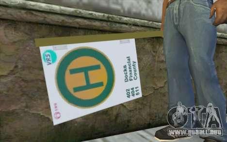 Ficha de autobús para GTA San Andreas tercera pantalla