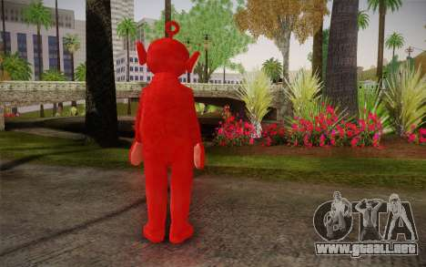 (Teletubbies) para GTA San Andreas segunda pantalla
