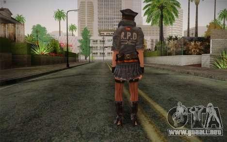 Helena Harper Police Version para GTA San Andreas segunda pantalla